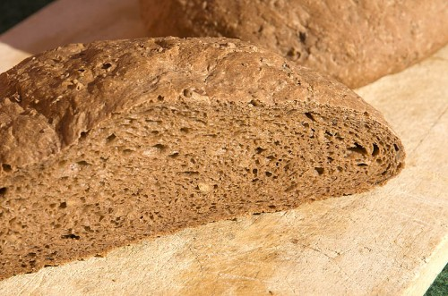 Brot aus Eichel-Mehl