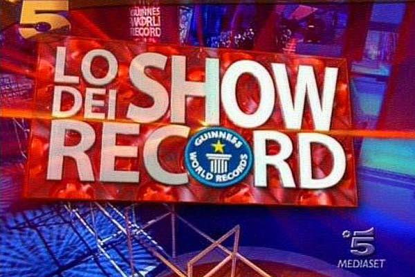 Mediaset Lo Show dei Record GWR Italy
