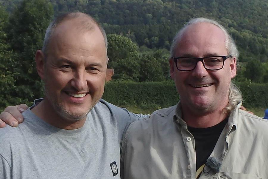 Frank Rosin und Rolf Iven