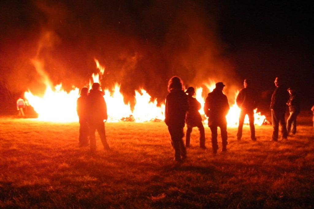 Feuerlauf Seminar NRW